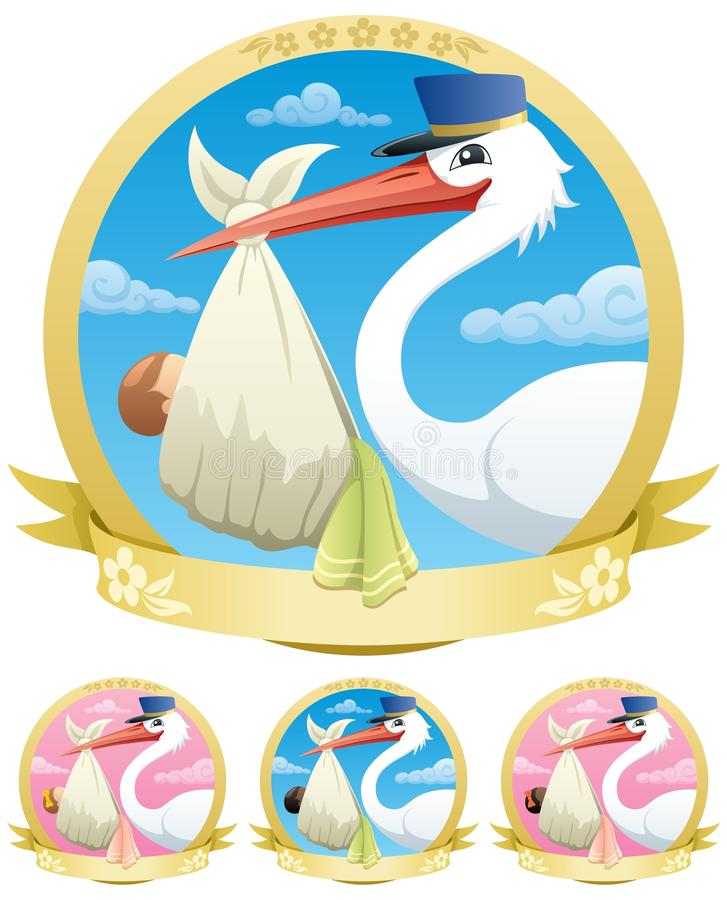 Download Baby Delivery stock vector. Image of indian, happy, american - 22503309
