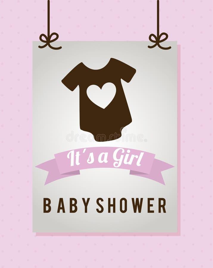 Baby design. Baby graphic design , vector illustration royalty free illustration