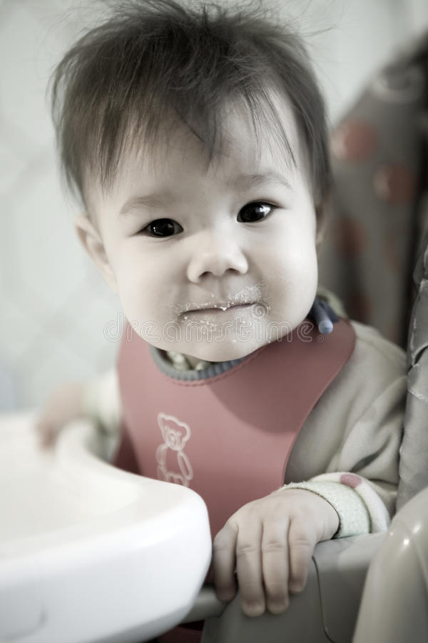 Download Baby dinner stock image. Image of little, person, babyhood - 10562135