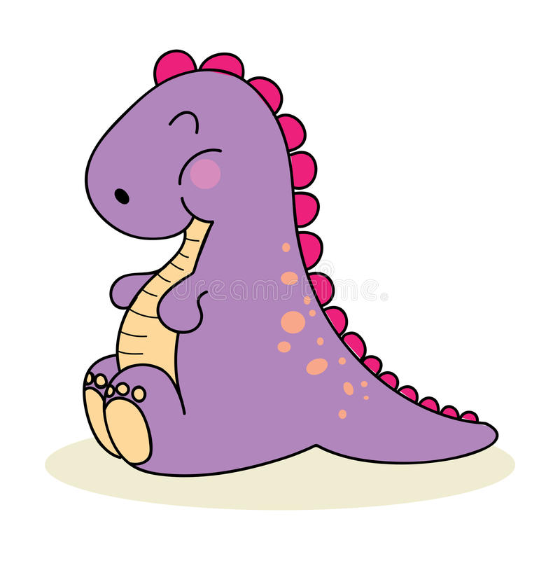 baby dino stock vector illustration of funny cute baby 18670486 rh dreamstime com cute baby dinosaurs clipart baby dinosaurs clipart