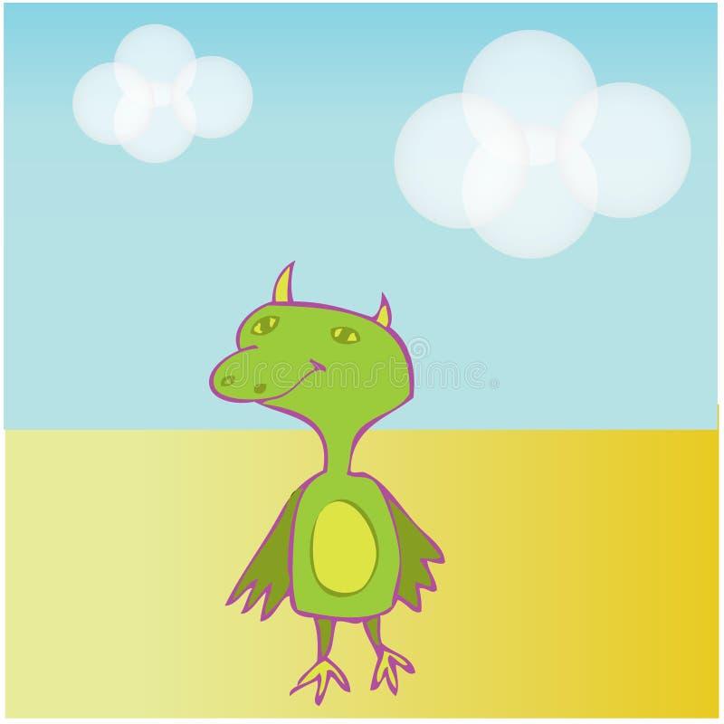 Download Baby Dinosaur stock vector. Image of vector, animal, illustration - 5258450