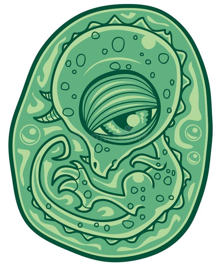 Download Baby Dinosaur Embryo stock vector. Illustration of clip - 10453183