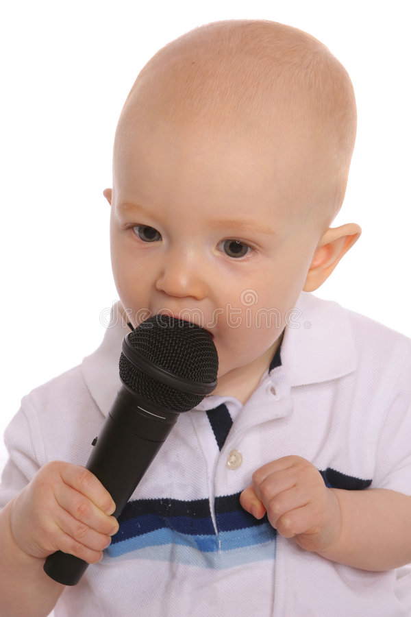 Download Baby DJ Three stock photo. Image of adoption, sing, concert - 176056