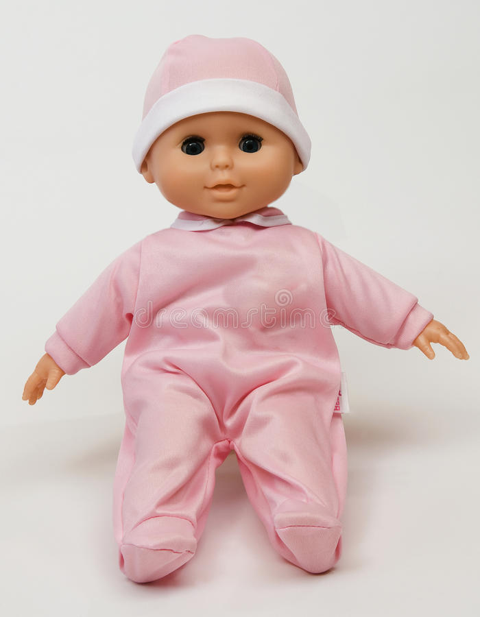 Baby doll royalty free stock photos