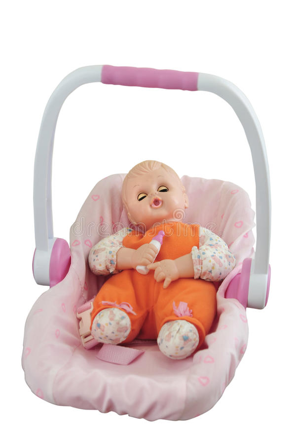 Download Baby Doll stock image. Image of pink, infant, bald, doll - 20405399