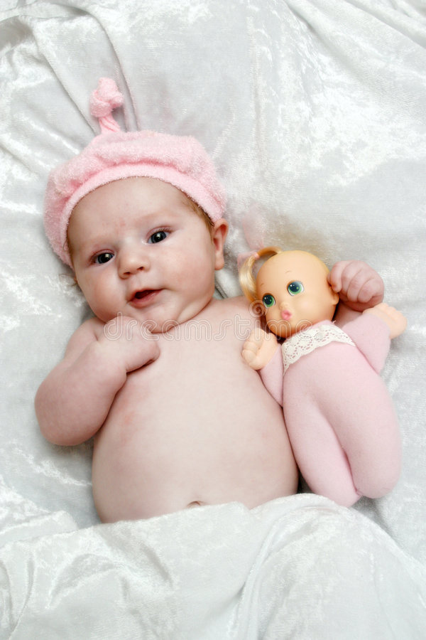 Baby Doll stock images