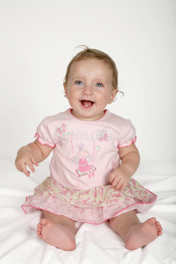 Baby Dress stock photography