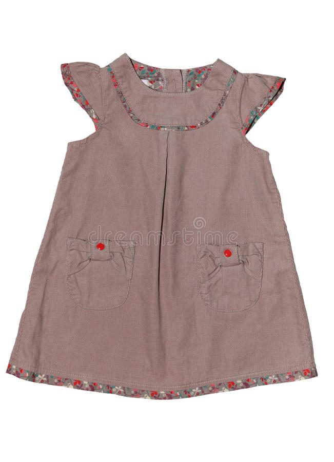 Baby dress royalty free stock image