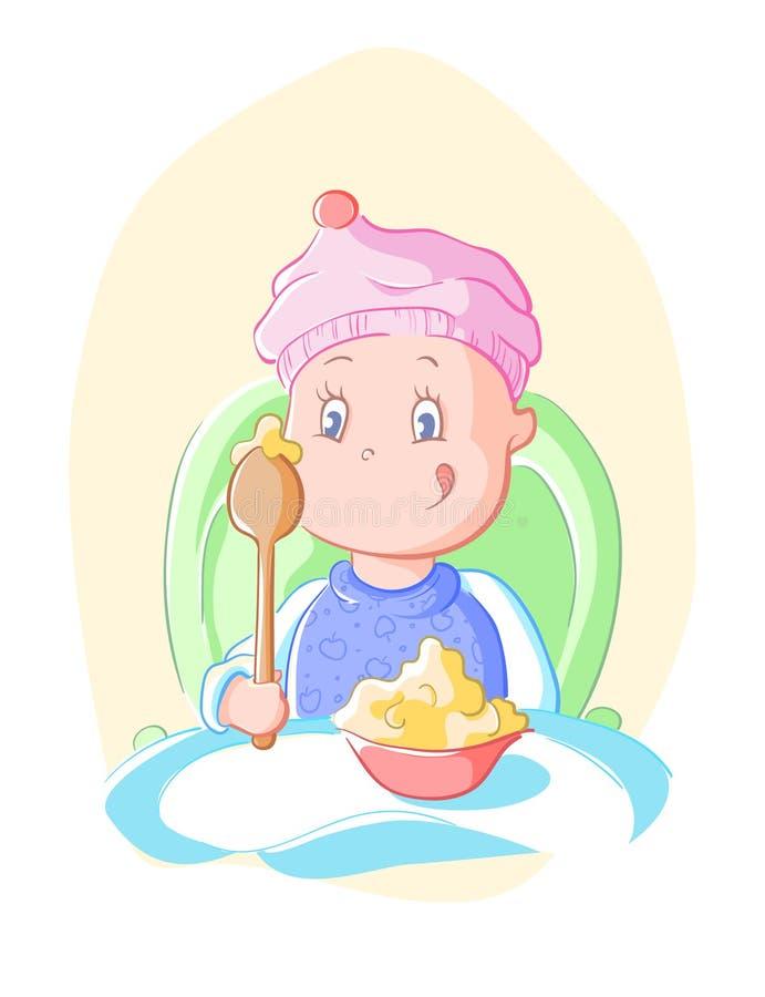 Free Baby Eats Stock Image - 32483421