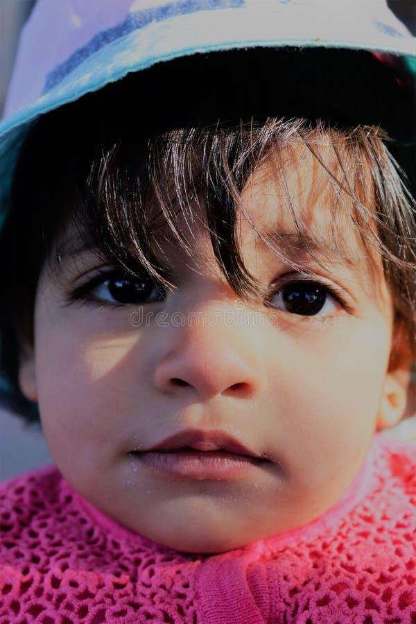 Baby ein Porträt lizenzfreie stockbilder