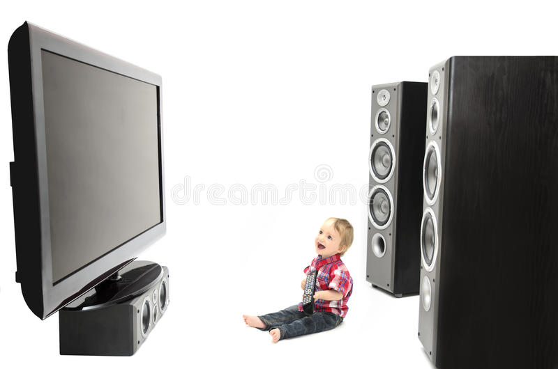 Baby Entertainment Royalty Free Stock Photography