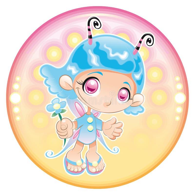 Baby Fairy. vector illustration