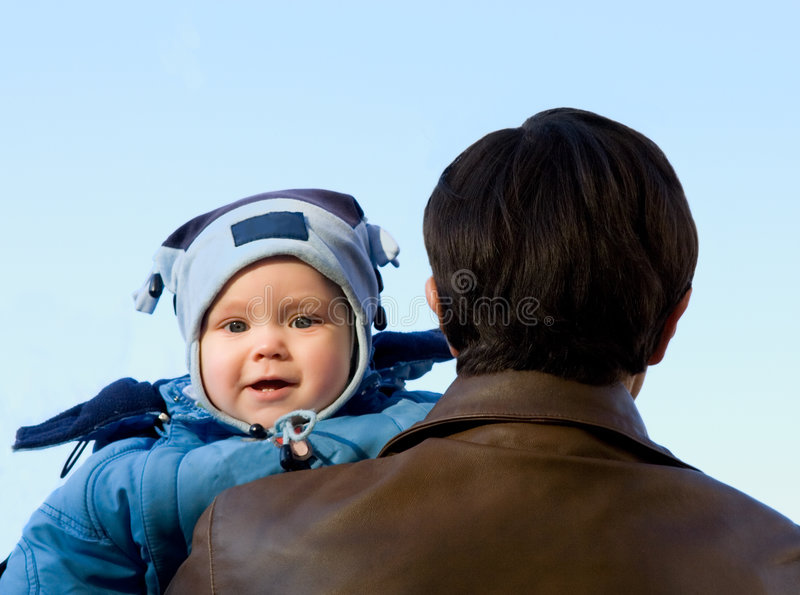 Download Baby And Father Stock Images - Image: 2315314