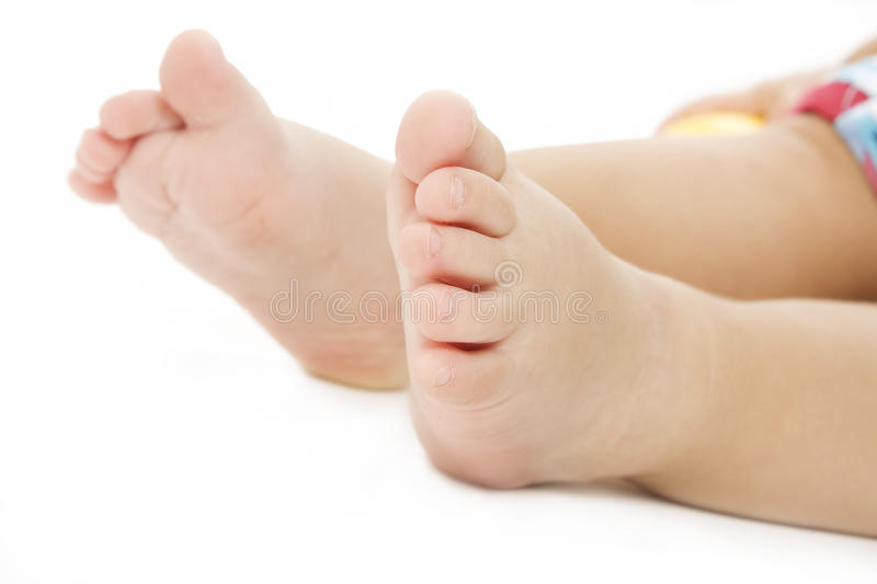 Download Baby feet stock photo. Image of young, isolated, color - 15072870