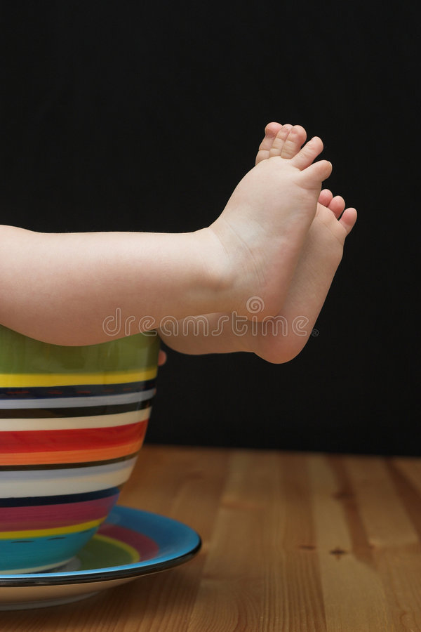 Download Baby Feet stock photo. Image of little, bright, innocent - 2502482