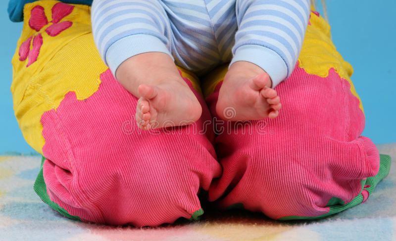 Download Baby Feet Royalty Free Stock Photos - Image: 28018858