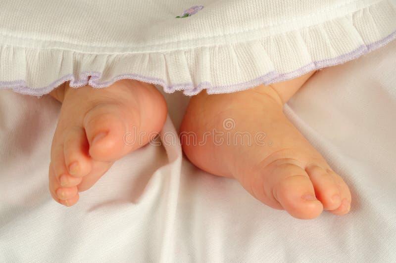 Baby feet royalty free stock photography