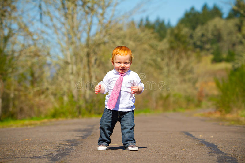 Download Baby First Steps stock image. Image of steps, ginger - 31401005