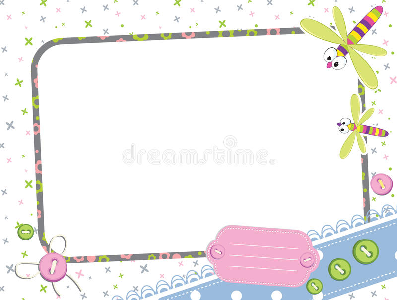 Baby frame stock vector. Illustration of illustration - 21007947