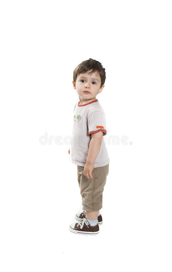 Baby full body stock photos
