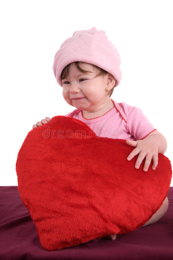 Baby fun royalty free stock photography