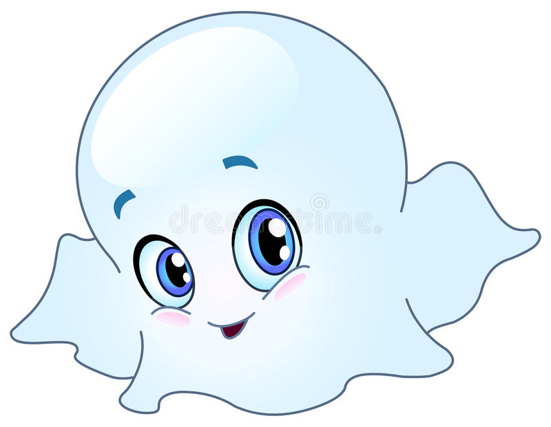 Download Baby ghost stock vector. Image of icon, girl, halloween - 16246423