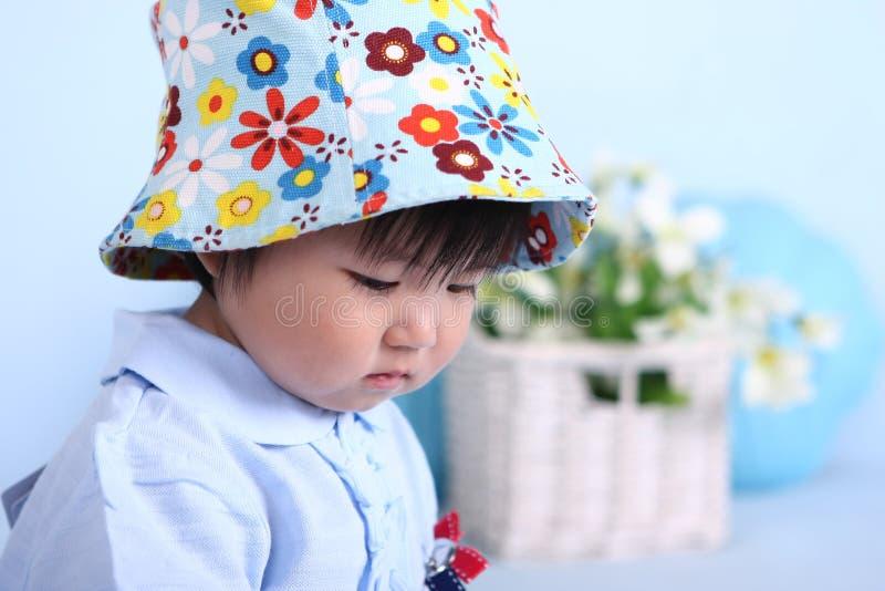 Baby girl stock photos