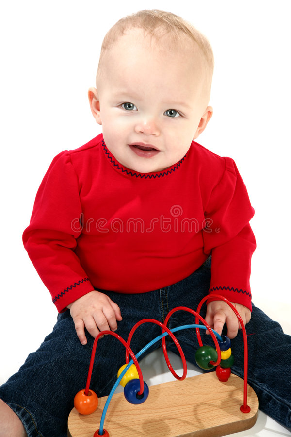 Download Baby Girl stock image. Image of female, casual, education - 1941257
