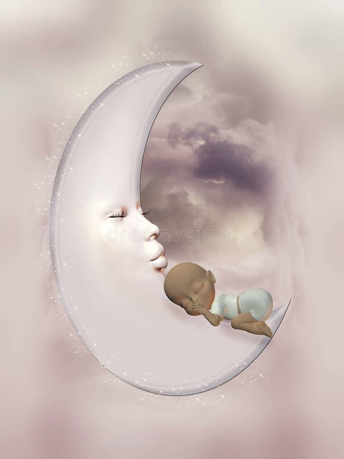 Download Baby girl stock illustration. Illustration of scrapbook - 21484888