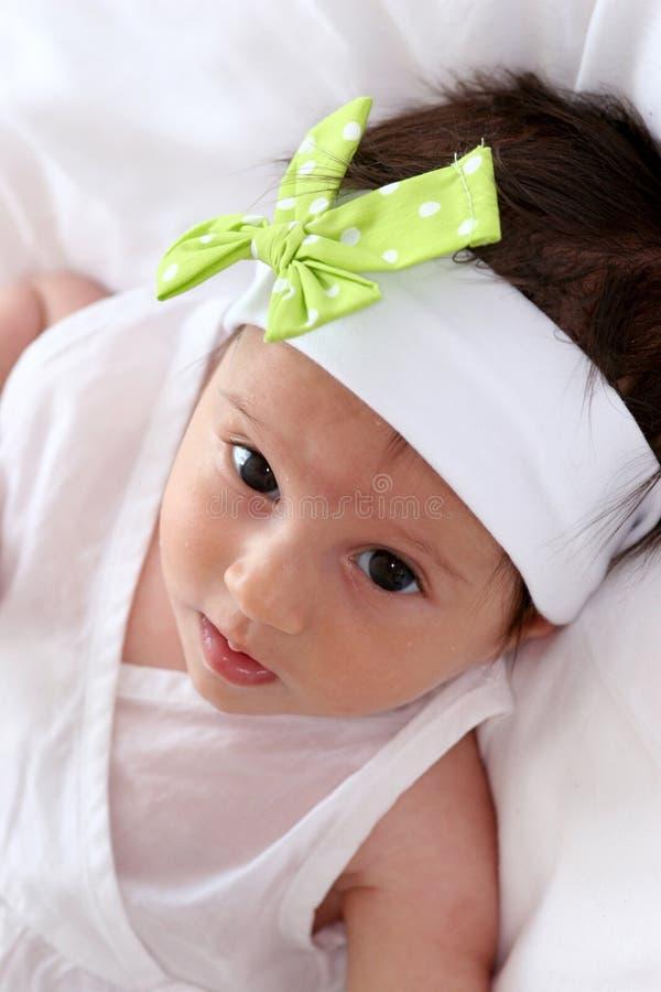 Download Baby girl stock photo. Image of lying, child, caucasian - 6761826