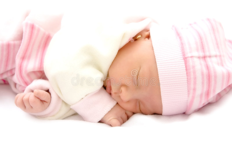 Download Baby Girl Royalty Free Stock Image - Image: 7686846