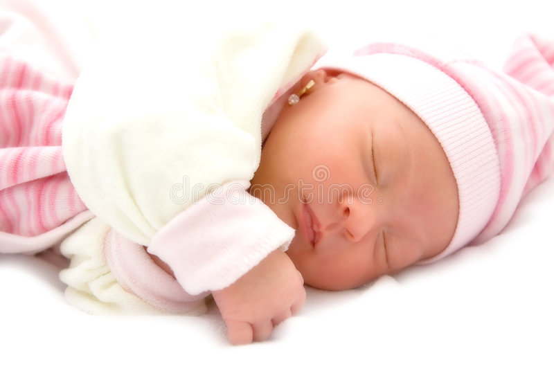 Download Baby girl stock photo. Image of toddler, isolated, expression - 7686858