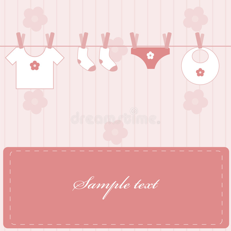 Download Baby girl stock vector. Illustration of daughter, cleanness - 8333139