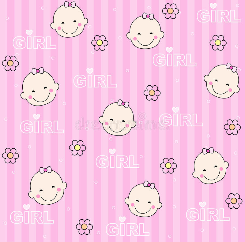 Download Baby Girl Background Stock Photography - Image: 9975972