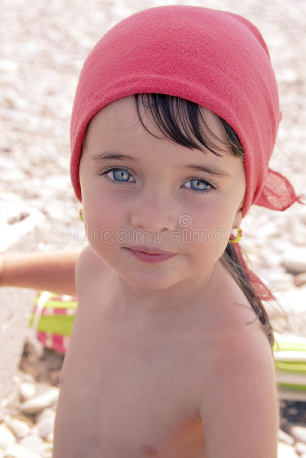 BABY GIRL ON A BEACH