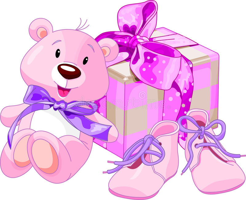 Download Baby Girl Gifts Royalty Free Stock Photography - Image: 13500247