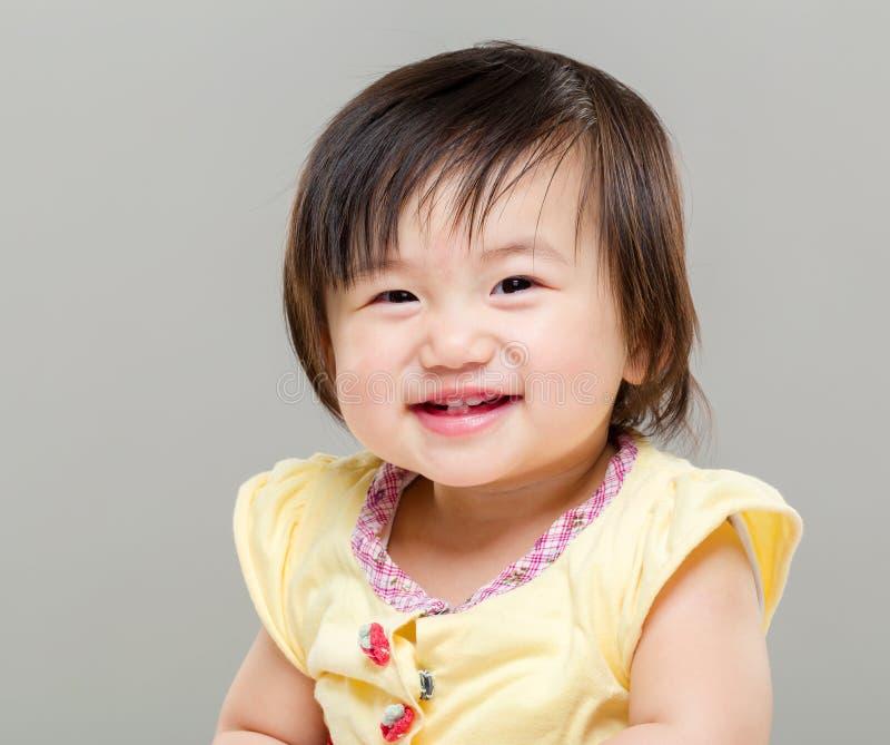 Baby girl royalty free stock photos