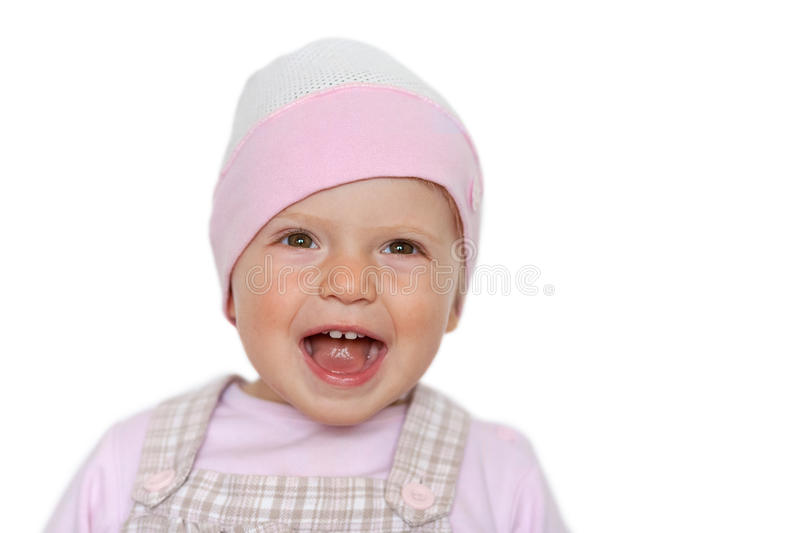 Download Baby girl laughing stock photo. Image of cute, play, daughter - 27227964