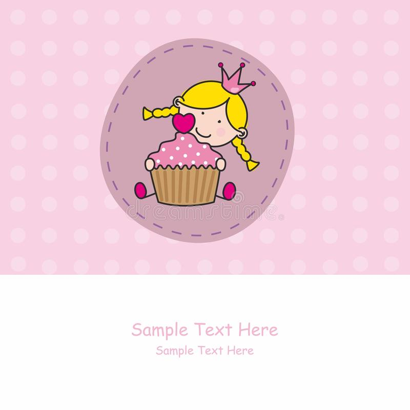 Download Baby Girl With A Muffin Stock Photography - Image: 22902632