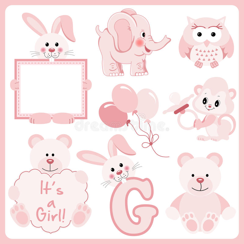 Baby Girl Clipart Stock Illustrations 12 163 Baby Girl Clipart Stock Illustrations Vectors Clipart Dreamstime