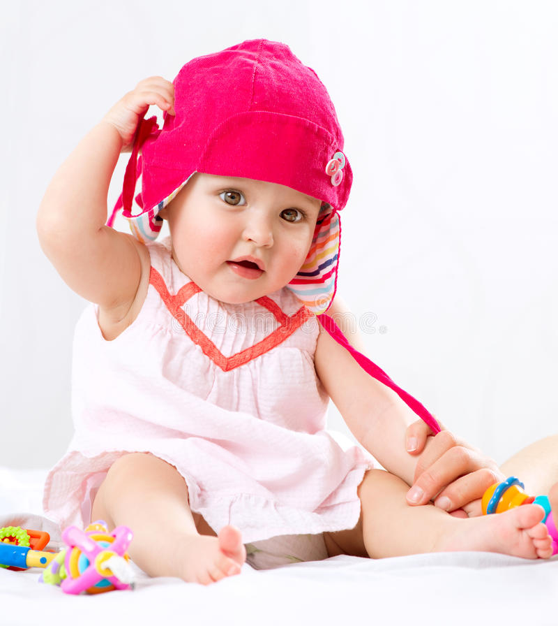 Download Baby Girl Portrait stock image. Image of baby, little - 30489371