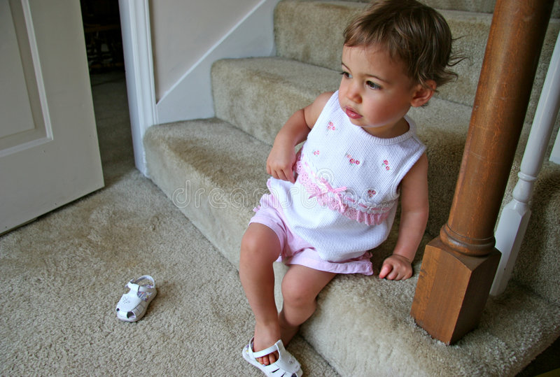 Download Baby Girl Shoes Royalty Free Stock Image - Image: 420876
