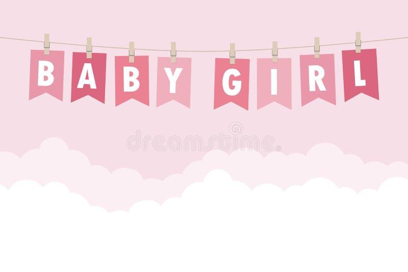Baby Girl Welcome Stock Illustrations 7 171 Baby Girl Welcome Stock Illustrations Vectors Clipart Dreamstime