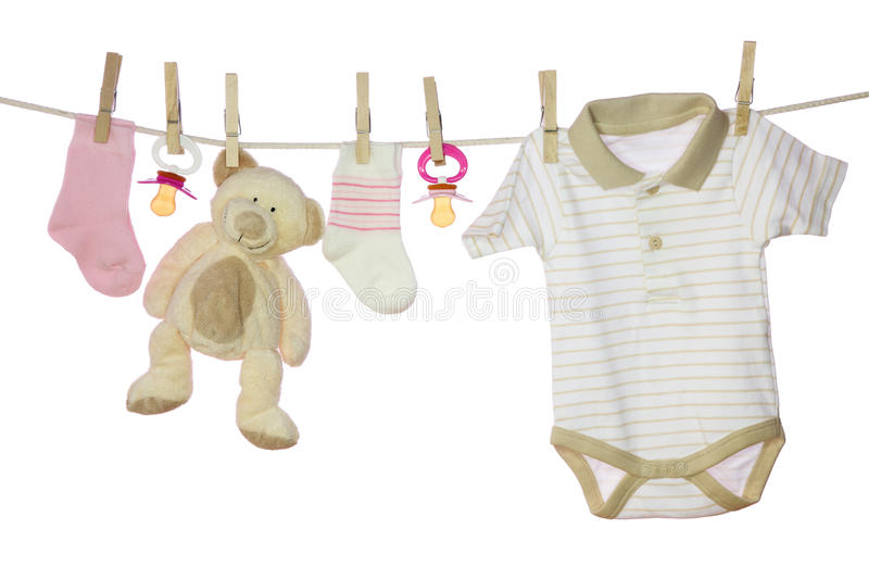 Baby Goods Royalty Free Stock Photos
