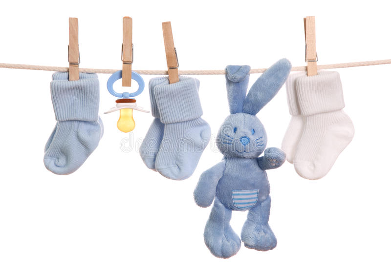 Download Baby goods stock image. Image of clothing, hanging, hare - 16400253