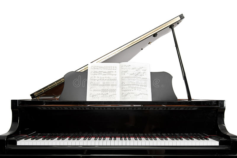 Baby Grand Piano stock images