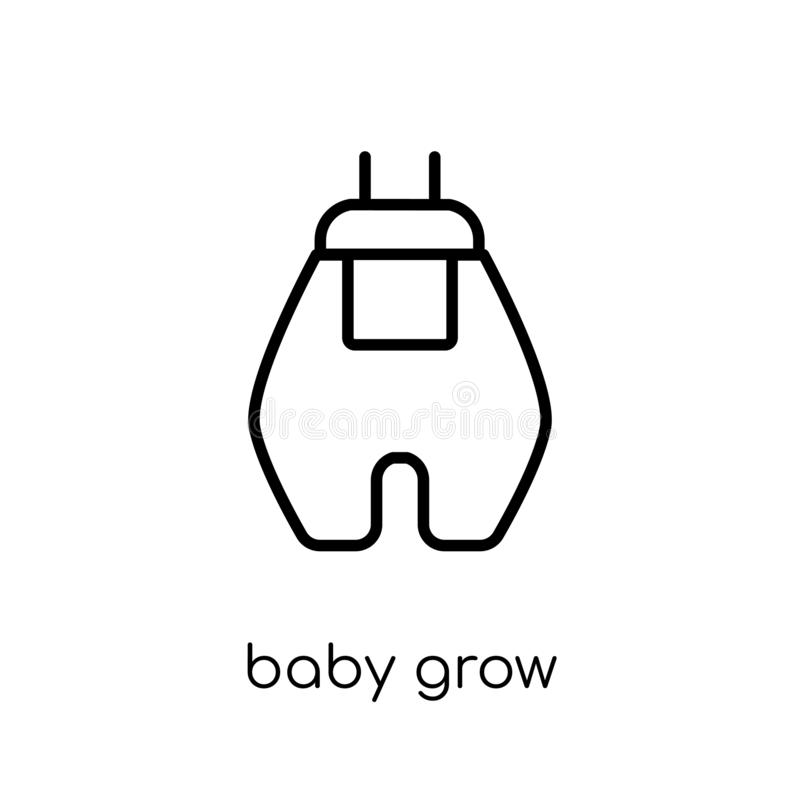 Baby Grow icon from Baby Grow collection. vector illustration