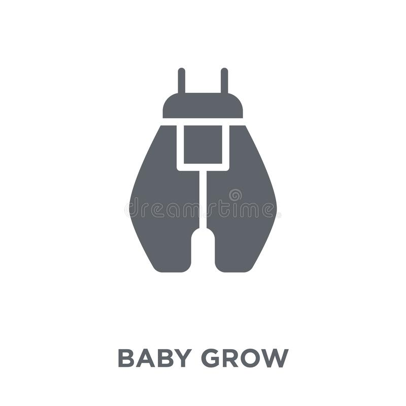 Baby Grow icon from Baby Grow collection. stock illustration