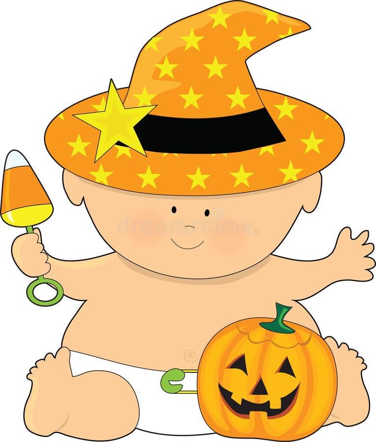 Baby Halloween Stock Photography