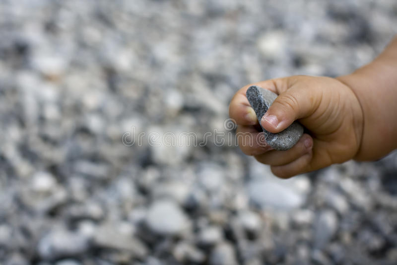 Download Baby hand stock photo. Image of up, stone, keeping, close - 32954814